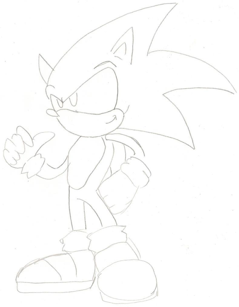 Mi primer dibujo de sonic by ministart on deviantart