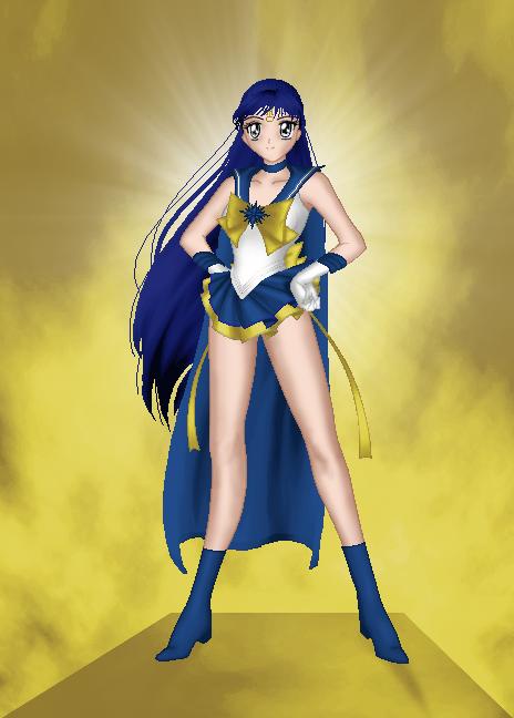 Sailor Crystal Uranus by eternalsailorpisces