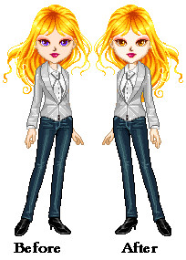 Rosalie Hale: Before and After by eternalsailorpisces