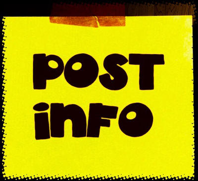 Post Info! by grodzqm8