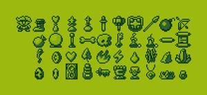 Game Boy Adventurers Inventory
