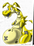 Inflatable Dragon Thingy (Colored)