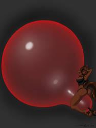 Moment Before Huge Balloon POP by DoodleDan86