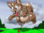 Giant Wolfie Balloon
