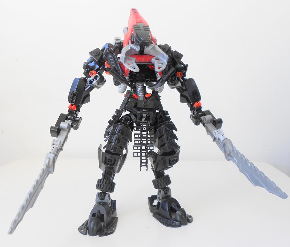 MOC: War Vahki Commander by Darkraimaster99