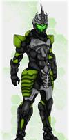 Arescet -The Mercenary by Darkraimaster99