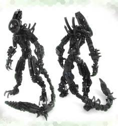 Moc. Xenomorph (Youtube) by Darkraimaster99