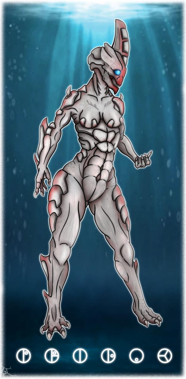 Barraki War-Lady Pridak by Darkraimaster99