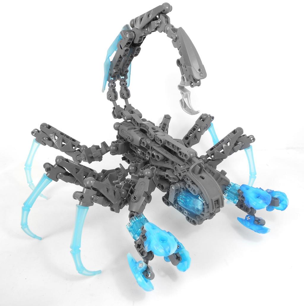 Moc. Rahi Cave-Scorpion by Darkraimaster99