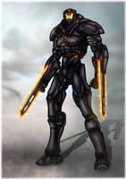Obsidian Fury Fanart by Darkraimaster99
