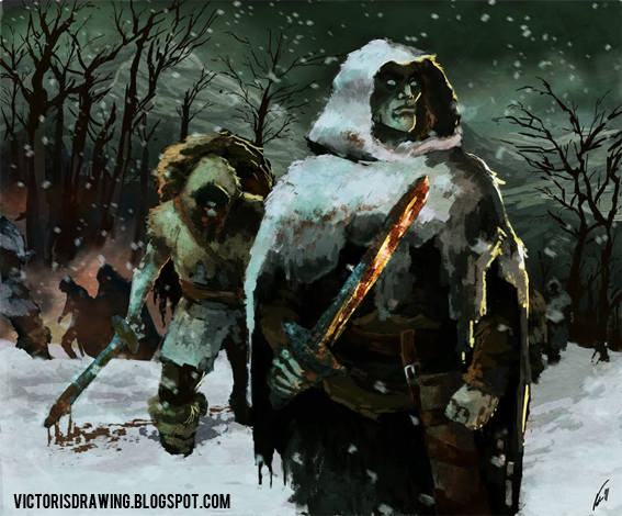 White Walkers - Game of  thrones by VictorGarciapq