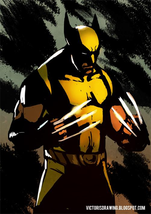 Wolverine sketch by VictorGarciapq