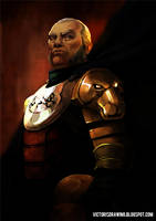 Tywin Lannister- Game of  thrones by VictorGarciapq