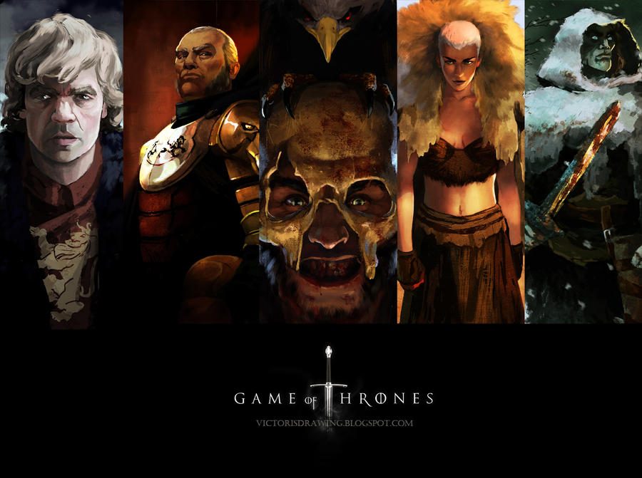 GAME OF THRONES by VictorGarciapq