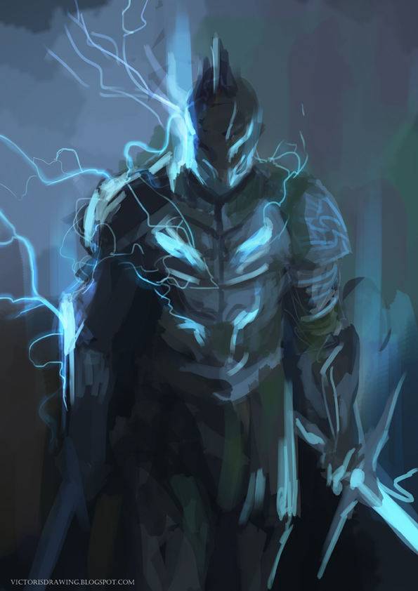 Lightning Knight By Victorgarciapq On Deviantart