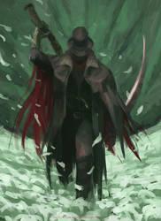 THE FIRST HUNTER - BLOODBORNE by VictorGarciapq