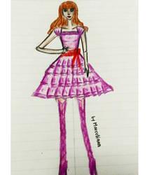 Fashion Illustration 1 by marcelianayang