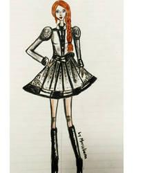 Fashion Illustration 4 by marcelianayang