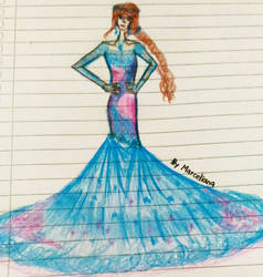 Fashion Illustration 5 by marcelianayang