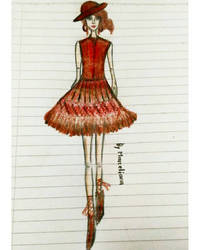 Fashion Illustration 6 by marcelianayang