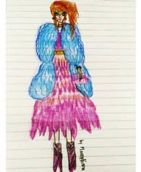 Fashion Illustration 8 by marcelianayang