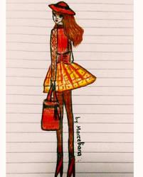 Fashion Illustration 10 by marcelianayang