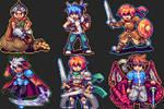 RPG Maker Steam Badges Collection