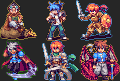 RPG Maker Steam Badges Collection by Regnia