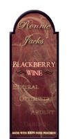 Ronnie Jacks' Blackberry Wine