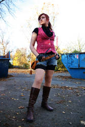 Claire Redfield Darkside Chronicles Cosplay