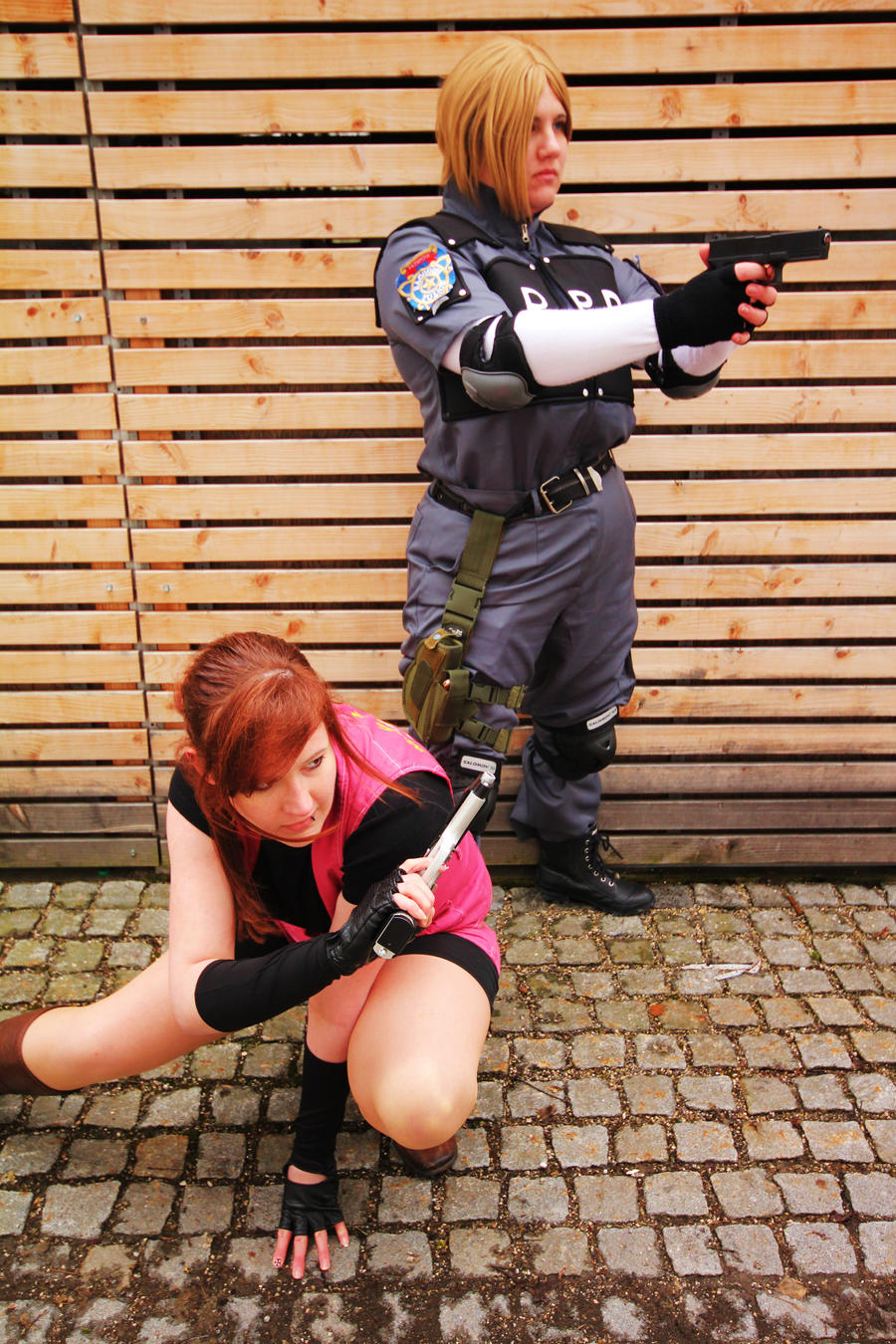 Resident Evil 2 Cosplay - aniMUC 2013 by ChaoticClaire