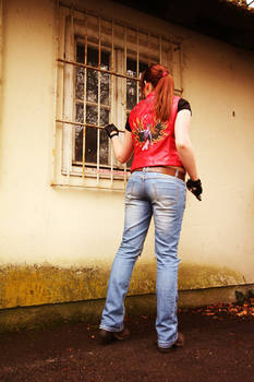 Claire Redfield Cosplay - Rockfort Prison