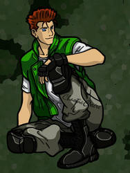 Chris Redfield by ChaoticClaire