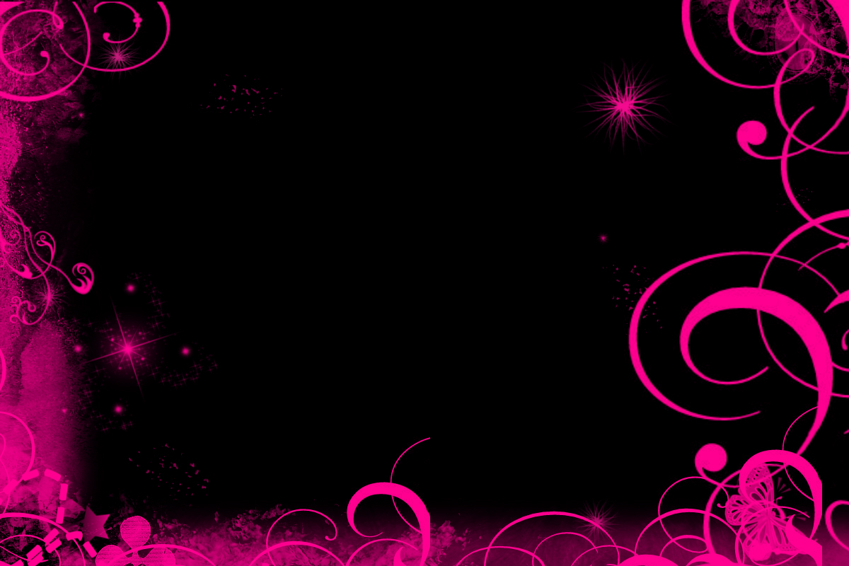 Pink And Black Wallpaper For Bedroom Design Pink Black Design Pink Black Cute Bedroom Room Decorating