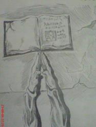 Prayer Sketch by canyuzgec