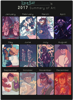 2017 Summary of Art by iLee-Font