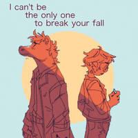 Break my fall by iLee-Font
