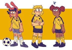 The hurt soccer by iLee-Font