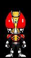Kamen Rider Kuu - Fire Form by HeatnixRider