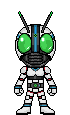 Kamen Rider White by HeatnixRider