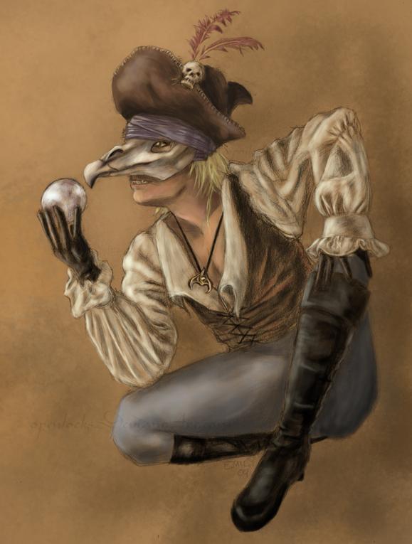 Beggar Bird by OpenLocks