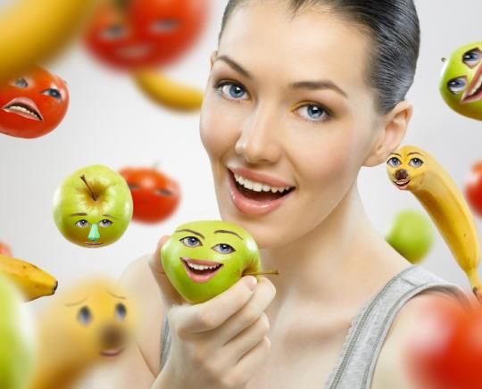 как быстро похудеть нам фруктах и овощах
