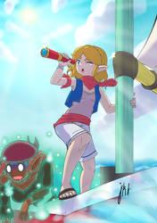 Zelda at Sea