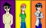 Rukia, Orihime, Tatsuki