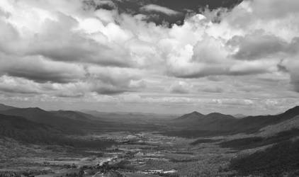 View from Eungella National Park