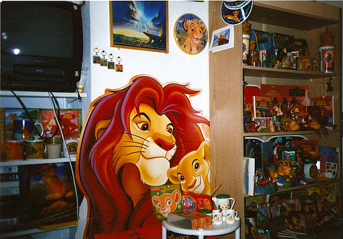 My Lion King collection in 1998