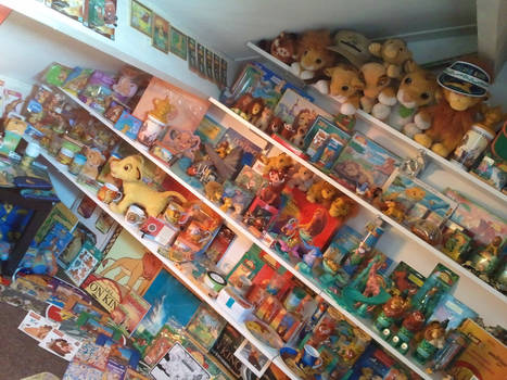 Part of my Lion King collection in 2011