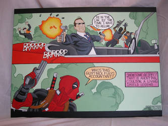 Coulson and Deadpool for Desert Bus for Hope by ringshadow