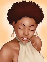 Teenie Weenie Afro by MelanoidInk