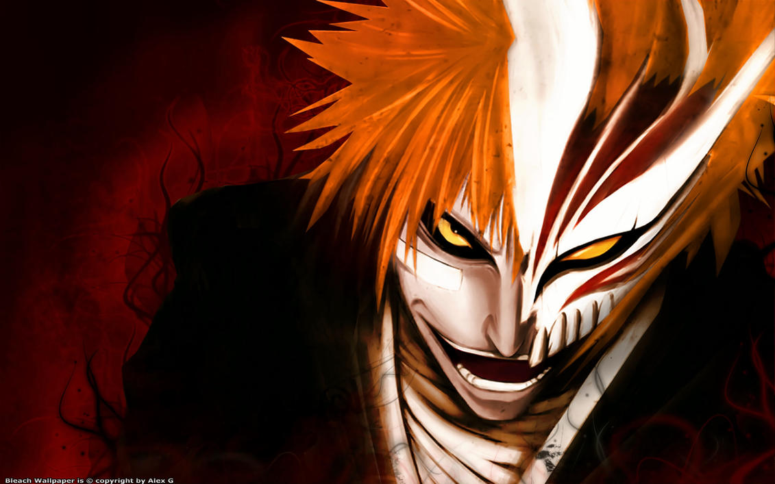 Bleach Hollow Ichigo By DigitalWabbit